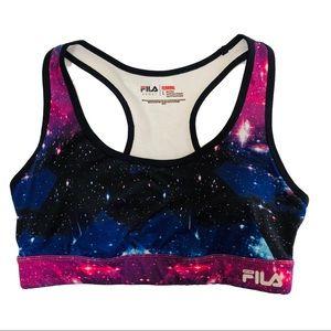FILA Sport Galaxy Running Sports Bra Size L